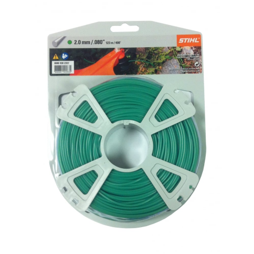 Genuine Stihl Trimmer line ROUND (GREEN) 2.0mm x 123M Product Code 0000 930 2337